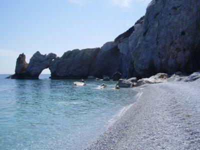 Pláže na Skiathosu