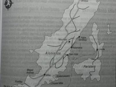 Mapa zajímavých míst na Alonnisu