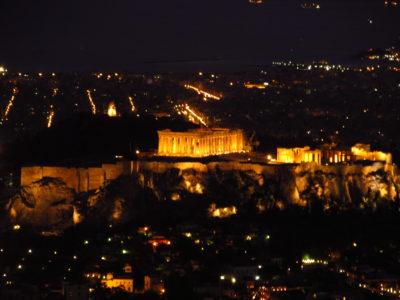 Vyhlídky na Athény