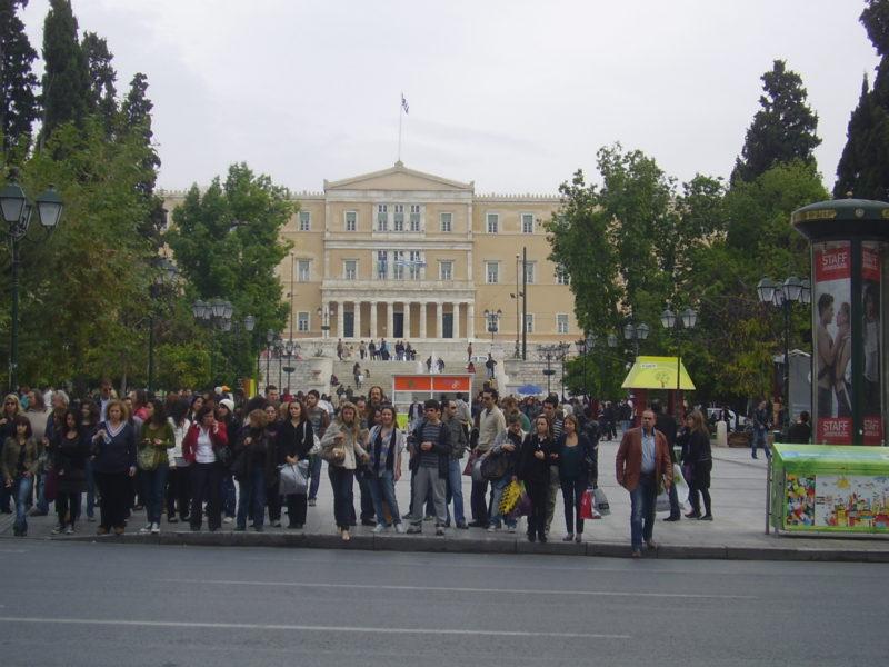 Syntagma: Centrum politického dění v Řecku