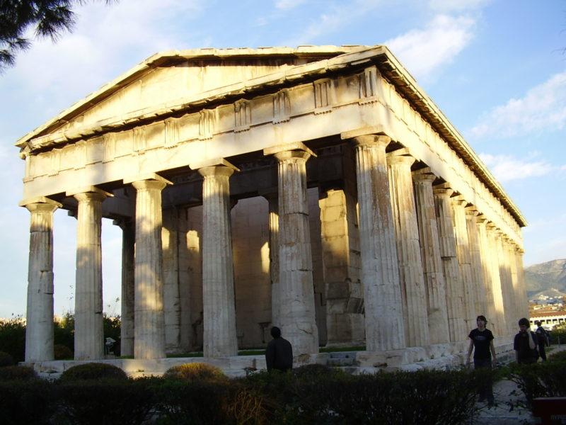 Hefaisteion: Jeden z nejlépe dochovaných starověkých chrámů