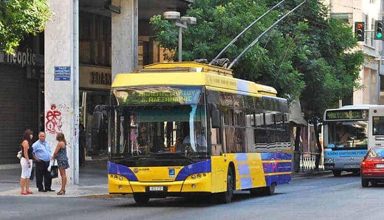 Doprava v Athénách