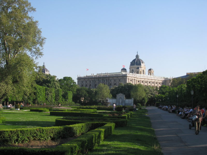 Veřejné parky v centru Vídně