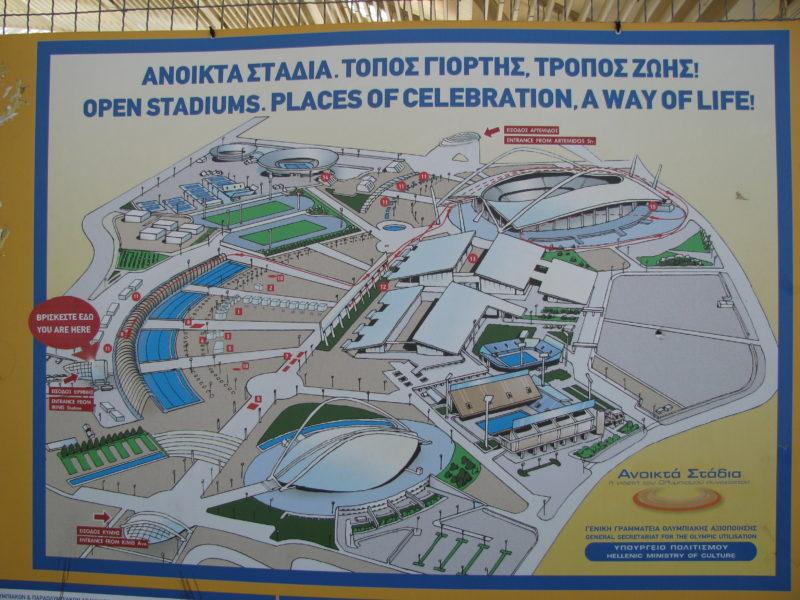Olympijské stadiony pro LOH  2004