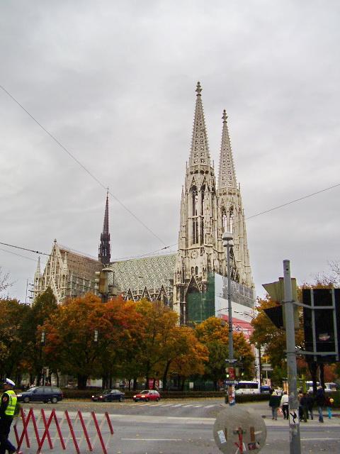 Votivkirche: Kostel jako poděkování
