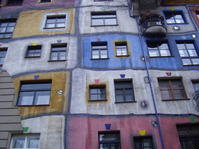 Hudertwasserhaus: Bizarní bytový dům