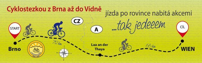 Cyklostezka Brno - Vídeň