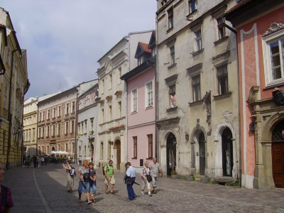 Ulice Kanonicza v Krakově