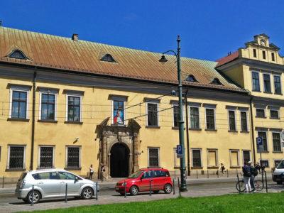 Biskupský palác v Krakově
