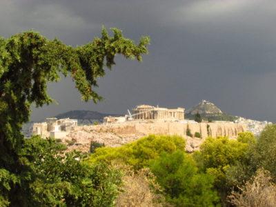 Akropolis: Posvátná skála nad Athénami
