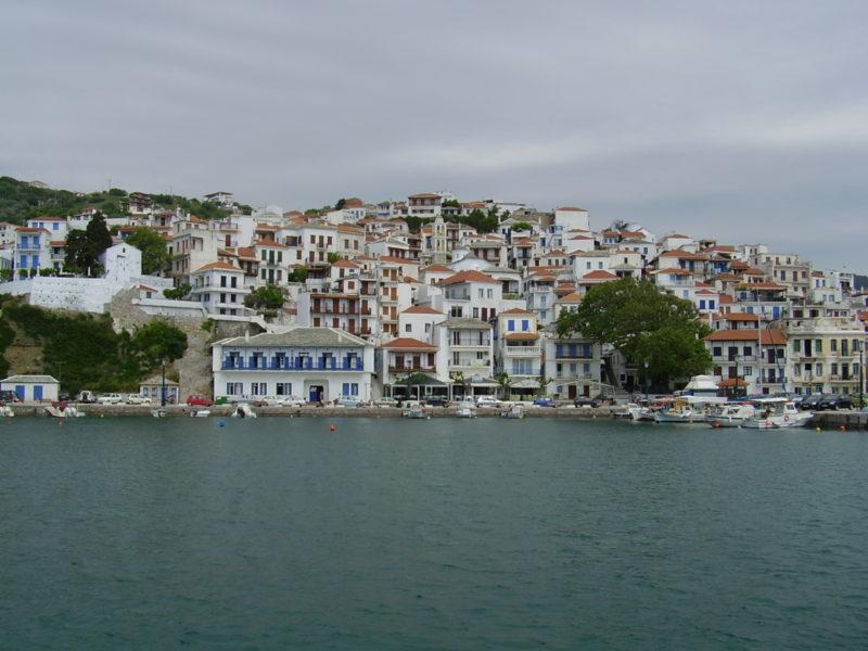 Architektura na Skopelosu