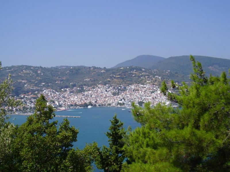 Hlavní město Skopelos