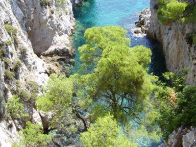 Dračí průrva na Skopelosu