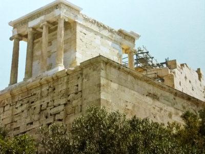 Chrámek bohyně Athény-Niké na Akropoli
