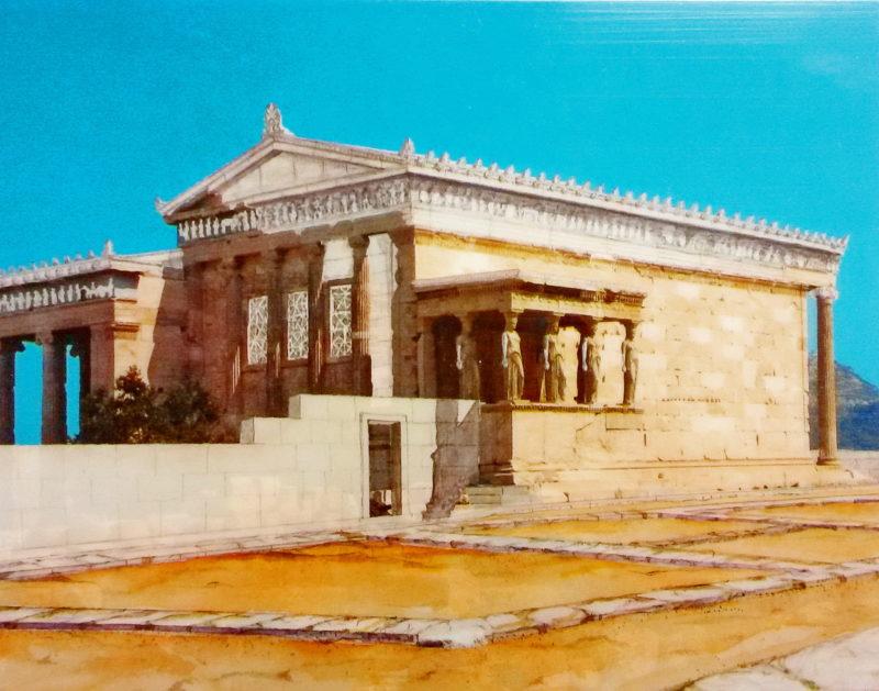 Erechtheion: Nejposvátnější místo Akropole