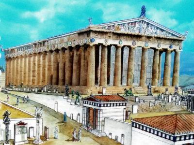 Parthenon II.: Výzdoba chrámu