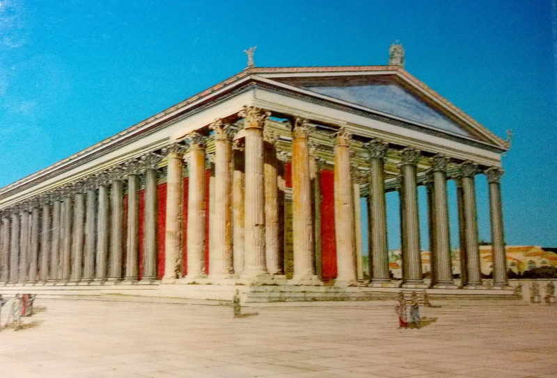 Olympeion: Chrám hoden boha Dia