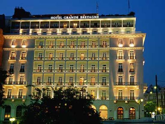 Hotel Grand Bretagne v Athénách