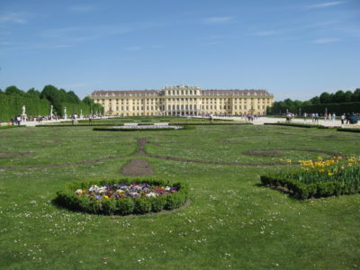 Schönbrunn: Zámecké zahrady