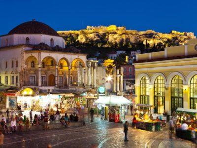 Monastiraki: Náměstí v srdci Athén