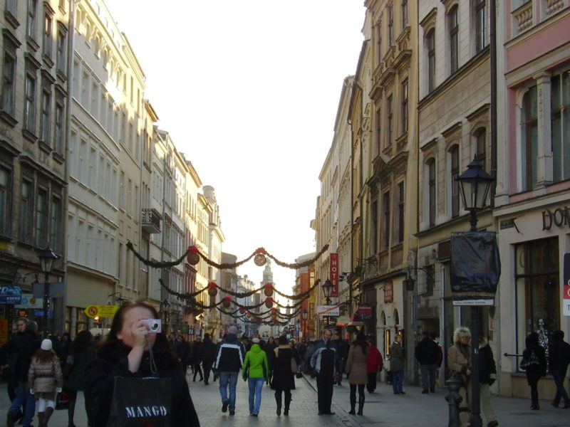 Ulice Grodzka v Krakově