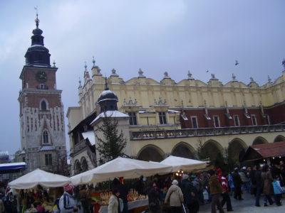 Rynek Glowny v Krakově