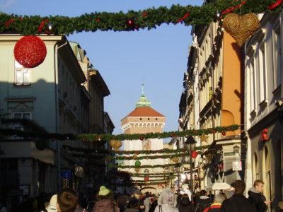Ulice Florianska v Krakově