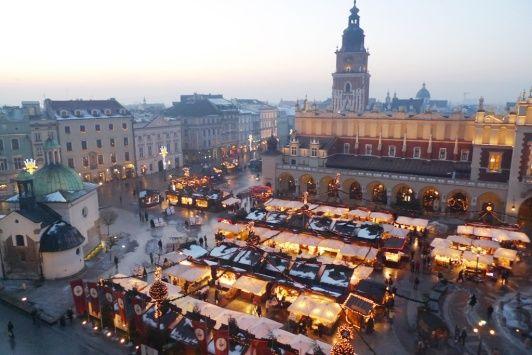 5 praktických rad + 1 supertip na vánoční trhy v Krakově