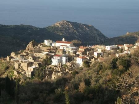 Severovýchodní Chios: kde učíval Homér